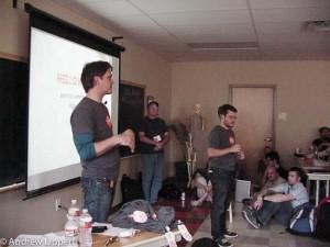 Code Poets Pete Davies and Evan Solomon