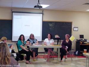 Ilene Haddad, Corrin Foster, Amanda Quraishi, Crystal R R Edwards