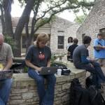 WordCamp Austin 2012 Courtyard