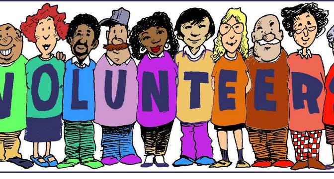 Volunteers!!